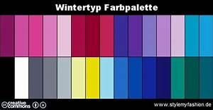 Farben Kombinieren Kleidung : die wintertyp farben typberatung style my fashion ~ Orissabook.com Haus und Dekorationen