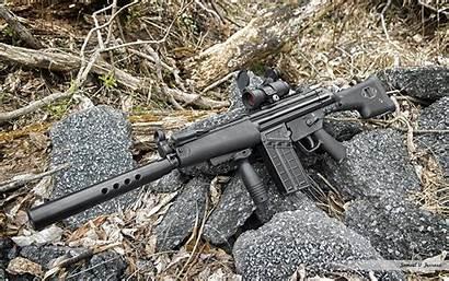 Assault Rifle Wallpapers Weapons Rec7 Barrett Background