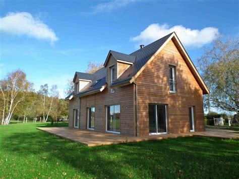 maison rt 2012 ossature bois 146 m 178 proche de pont l ev 202 que 14 normandie e2r maisons bois