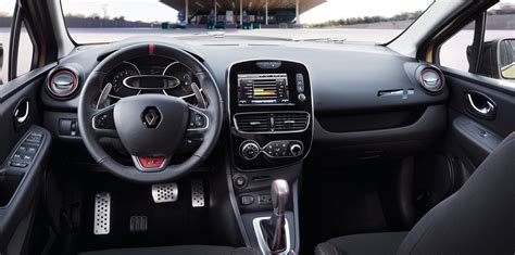 renault clio interior 2017 2018 renault clio rs pricing and specs new looks more
