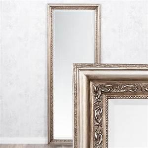 Spiegel Silber Rund : spiegel argento barock silber antik 140x50cm 4316 ~ Whattoseeinmadrid.com Haus und Dekorationen
