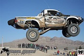 Go for a ride in the TOTAL CHAOS Toyota Tacoma with Nicole Pitell-Vaughan and Jessi Combs ...