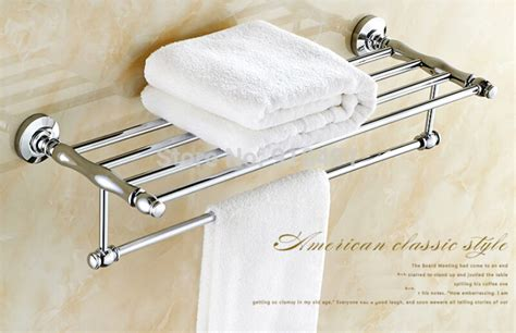 Bathroom Shelf With Towel Bar Chrome by Wholesale And Retail Promotion Polished Chrome Brass