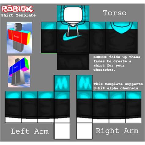 nike jacket template roblox nike black and cyan hoodie roblox