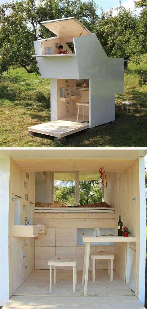 small house in 20 tiny homes that the most of a space