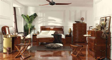meubles et décoration de style exotique et colonial décoration chambre ambiance coloniale