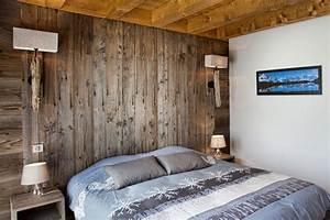 mur bois recycle chambre accueil design et mobilier With mur de chambre en bois