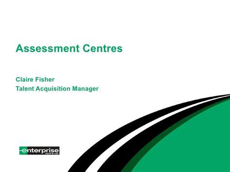 Assessment Days - Enterprise Rent-a-car