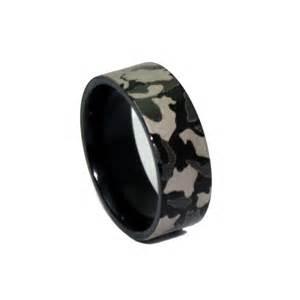 black wedding rings for 1 camo black ring laser engraved camouflage wedding band