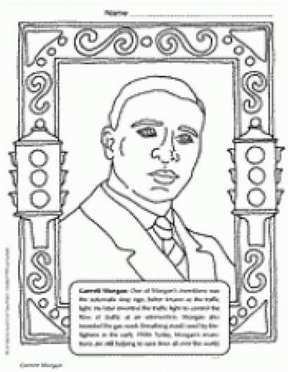 Morgan Garrett Coloring African American History Pages