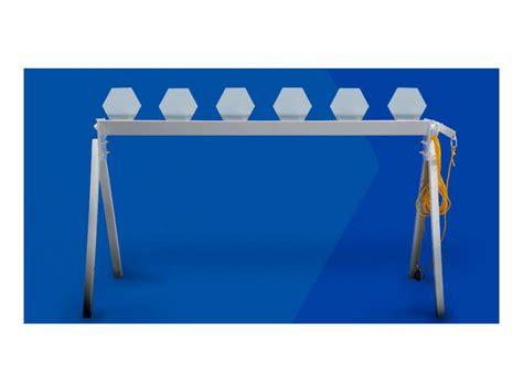 mgm economy plate rack target steel mpn pre