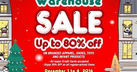 manila shopper richwell christmas warehouse sale dec 2016