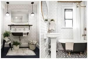Style De Salle De Bain : le style r tro chic fait sont retour en salle de bain ~ Teatrodelosmanantiales.com Idées de Décoration
