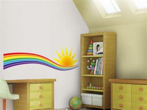 Kinderzimmer Gestalten Regenbogen by Wandtattoo Regenbogen F 252 R Kinderzimmer Oder Wohnbereich