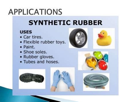 natural  synthetic rubber