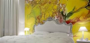 Farbe Wand Ideen : wandgestaltung schlafzimmer coole wandgestaltung ideen f r kreative wandgestaltung farbe ~ Markanthonyermac.com Haus und Dekorationen