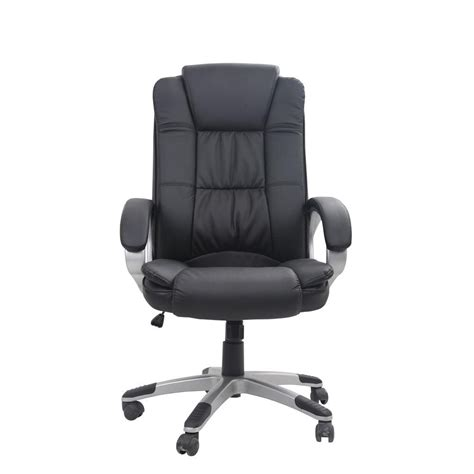 classic bonded leather executive office chair with