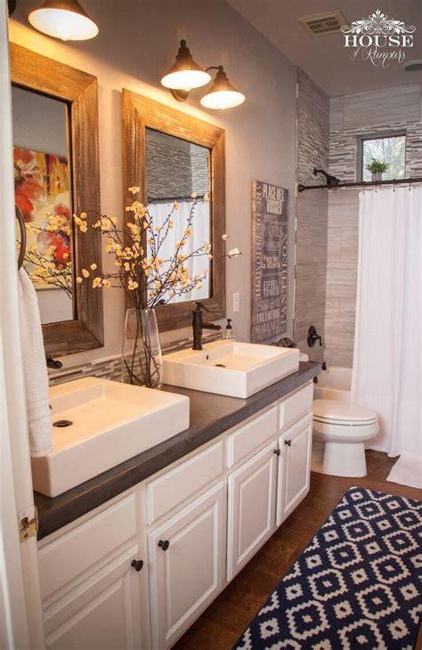 36 Best Farmhouse Bathroom Design And Decor Ideas For 2017