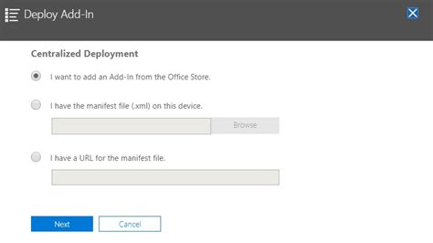Office 365 Portal Manual by Deploy Office 365 Plugins Using The Admin Portal 2 Azure