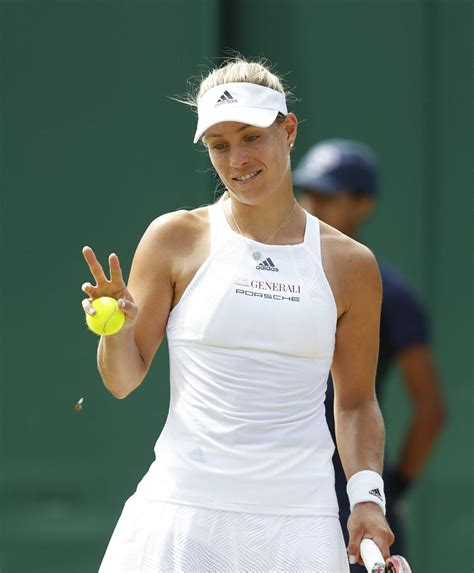 Kerber's dairy offers something for everyone! Angelique Kerber - Wimbledon Championships in London 07/08 ...