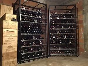 Casier A Bouteille Metallique : les casiers du manoir casier bouteilles casiers vin casiers magnum casiers ~ Melissatoandfro.com Idées de Décoration