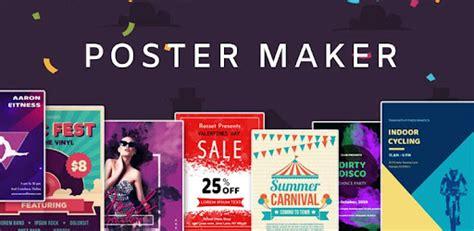 poster maker flyer maker   graphic design apps