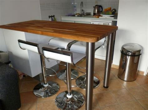 cuisine table bar table de bar cuisine table en verre salle a manger objets decoration maison