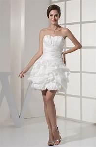 white sexy hall sweetheart sleeveless taffeta mini bridal With mini robe sexy pas cher