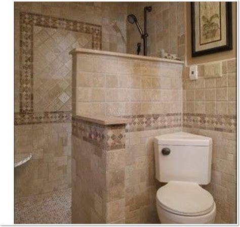 beautiful small bathroom ideas  walk  shower