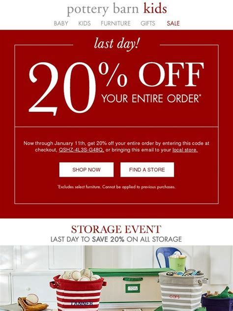 local discount furniture stores pottery barn last day your 20 expires today