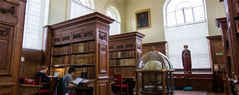 library history  queens college oxford