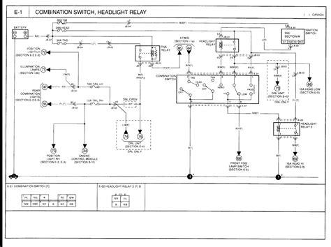 2002 kia spectra no low beams no power at fuse 36 for