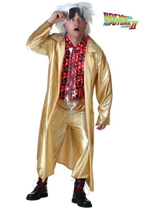 back to the future 2015 doc brown costume