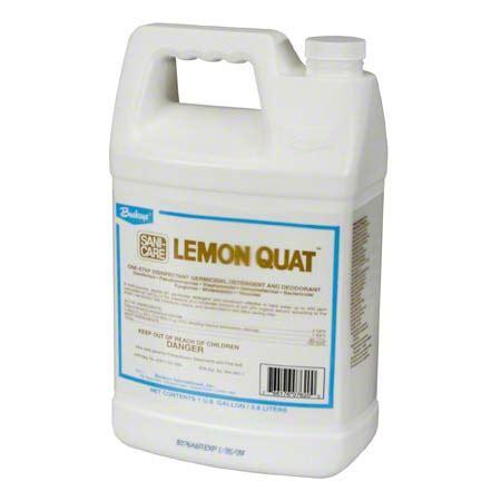 Buckeye® Sanicare Lemon Quat™ Disinfectant Cleaner-Gal