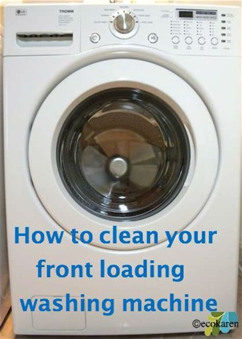 clean front load washer 56 best images about there s no place like home on pinterest simple life hacks ceiling