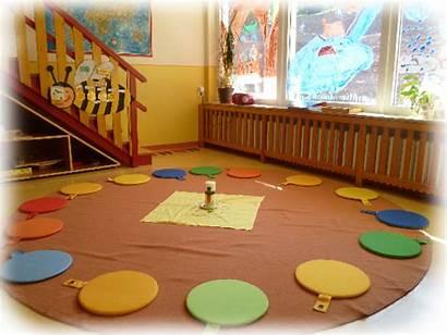 Kindergarten Ein Tag Morgenkreis Kinder Ritual Den