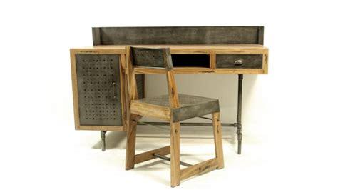 bureau belfast bureau belfast de style industriel en bois et métal