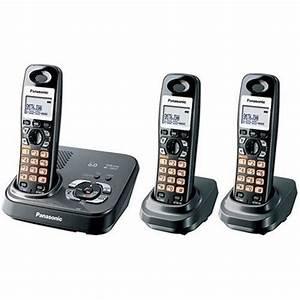Panasonic Dect 6 0 Expandable Digital Cordless Answering System