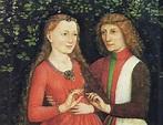 Mary and Maximilian love brooch - Kaleidoscope effect