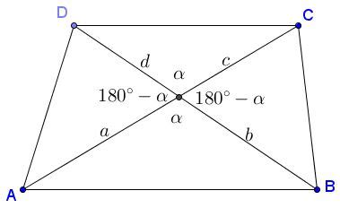 Diagram Of Trapezoid by Geometric In Trapezoid