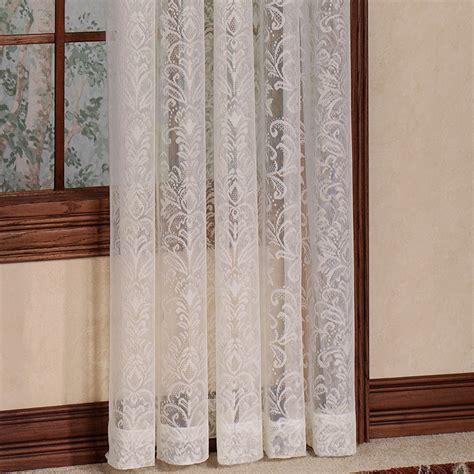 Lace Drapery Panels by Damask Lace Window Treatment