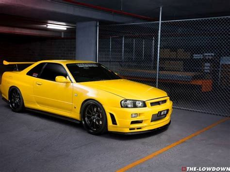 nissan yellow yellow 1100whp nissan gtr 34 skyline dpccars