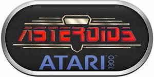 Atari 7800 Silver Ring Clear Game Logo Set - Game Clear ...