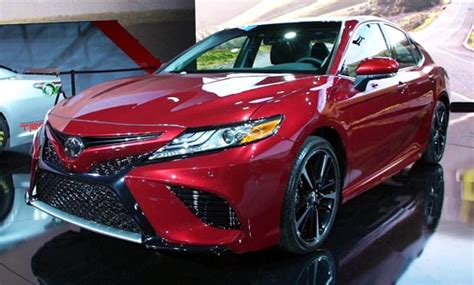 Allnew 2019 Toyota Camry Gains Styling Flair And Engine