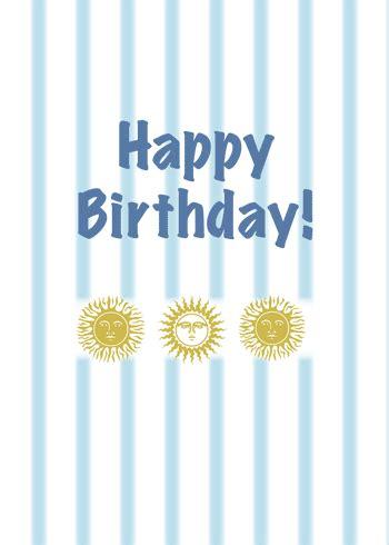 sun  stripes show birthday wishes  happy birthday ecards