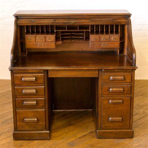 used roll top desk for sale edwardian dark oak roll top desk antiques atlas