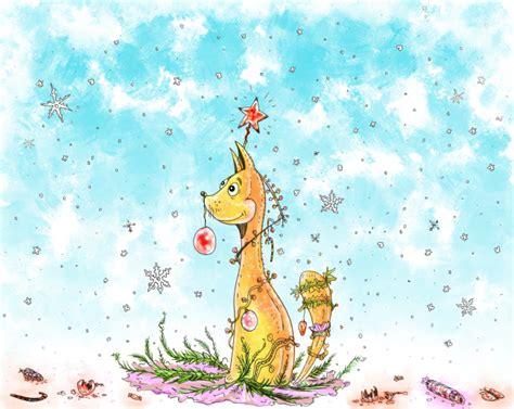 weihnachtsbaum selbst gemacht illustration image by