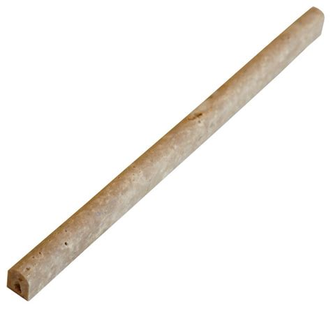 walnut pencil liner trim tile contemporary accent trim