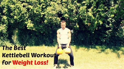 kettlebell workout loss weight