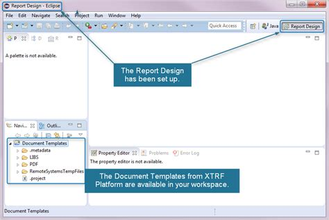 eclipse modify templates customizing your birt 4 document template xtrf help